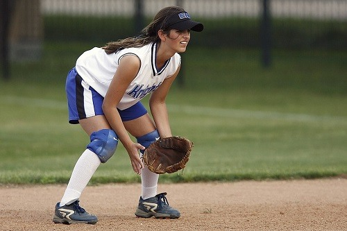Infielder Female Softball Player
