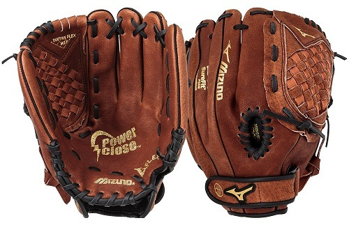 Front and Back Side of Mizuno GPP1150Y1 Youth Prospect Ball Glove