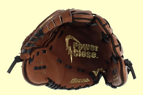 Top View of Mizuno GPP1150Y1 Youth Prospect Ball Glove