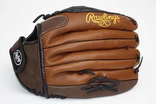 Backside of Rawlings Playmaker Series 13 Inch Softball Pattern Glove